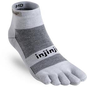 Injinji Run Mini-Crew Xtralife Løbesokker Herrer, gray